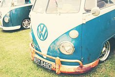 Vintage VW Bus  Retro and Vintage Inspired  by LouBePhotography,