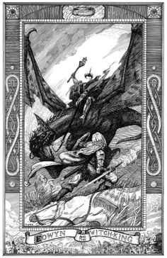 lotr, witchk, eowyn, book, witch king, tolkien, blog, middl earth, arda
