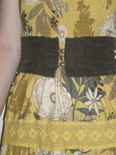 How to make a corset belt. Corset Belt  - Step 11