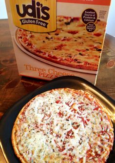 Udi''s GF Cheese Pizza - have you tried it yet? Read about it here!