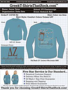 Delta Zeta Southern Shindig  http://www.greekt-shirtsthatrock.com/