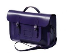 Cambridge satchel in purple £93