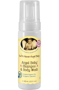 Angel Baby Shampoo and Bodywash by Earth Mama Angel Baby.  How does someone so angelic, sweet and pure get so dirty? All the breast milk mostly going in, and then, of course, going out! And once the food experimentation and crawling starts, the battle with grime really begins. You need a safe, effective soap that won't hurt your baby's sensitive skin.  Available at LilyPants.com