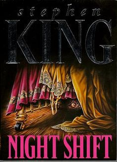 Night Shift by Stephen King. A collection of short stories, I love it. My favorite is 'I know what you need' so creepy.