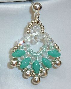 Twin Bead Earrings - Made them!! Gorgeous!!