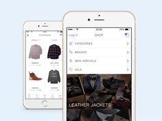 Shop iPhone6 App by