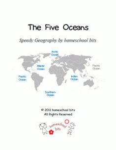Speedy Geography: The Five Oceans