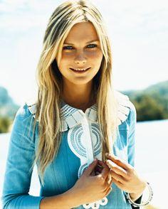 blonde + blue