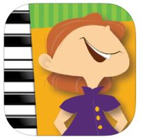 MMF! Piano Primer Book | FREE iPad App - This app gives kids a great start to learning piano. It's well planned and super cute!