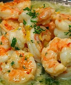 Easy & Healthy Shrimp Scampi from Smokedngrilled DUDE THIS IS BOMB-DIGGITY!!!!! I LOVE SHRIMP!! THE BEST LOOKING SHRIMP!! AHHH!!