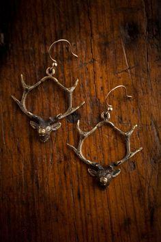 Devotion Deer Earrings | Angel Court | Bourbon & Boots