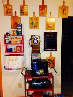 My kitschy kitchen - VINTAGE RETRO ANTIQUE ANTIQUES