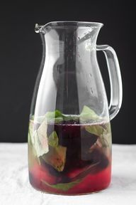 Blueberry & basil te