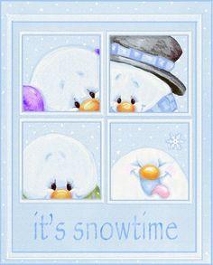 Снеговики It27s20Snowtime