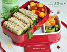 Lunch Box: Chicken Salad Sandwich