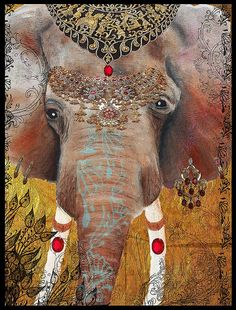 The Gilded Elephant of Jaipur