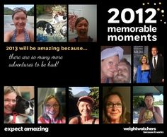 See my memorable moments from 2012 and how I'm resolving to make 2013 Amazing! #ExpectAmazing #WWLoves https://apps.facebook.com/weightwatcherscon//showentry?entryurl=/contests/showentry/1391816/from=share
