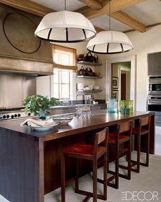 An elegant Malibu kitchen.