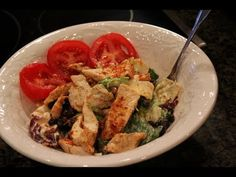 Amazing Healthy Chipotle Chicken Salad - Lean Body Lifestyle only 3 pts !
