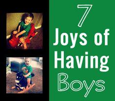 7 Joys of Having Toddler Boys