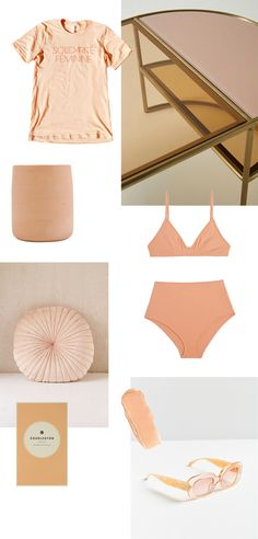 peachy pink apricot