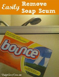 How to Easily Remove Soap Scum