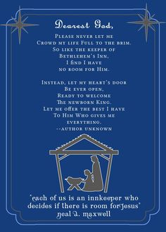 Innkeeper's Poem Pri