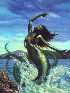 Mermaid mythical creature from mythicalrealm.com