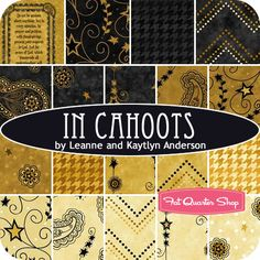 In Cahoots Yardage Leanne and Kaytlyn Anderson for Henry Glass Fabrics - Fat Quarter Shop
