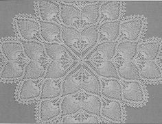 Totally Free Crochet Pattern Blog - Patterns: Square Pineapple Centerpiece or Tablecloth tablecloth, pineappl centerpiec, crochet patterns, pattern blog, squar pineappl