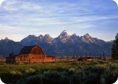 26) Wyoming -  Jackson Hole is a valley encompassed by mountains.  The Grand Teton National Park occupies most of the valley of Jackson Hole.  There is plenty of native wildlife of which many of the large animals roam undisturbed across the valley floor, and numerous trails lead into the mountains to satisfy adventurers.  The town of Jackson Hole is quaint with it's antler entrance to the town park and the saddle bar stools in Cowboys...A must see!