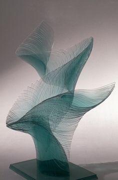 Glass Sculpture, Ikuta Niyoko