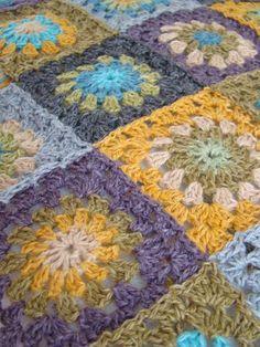 crochet granny, squar blanket, color combos, granni crochet, color combinations, crochet granni, granny squares, granni squar, color inspir
