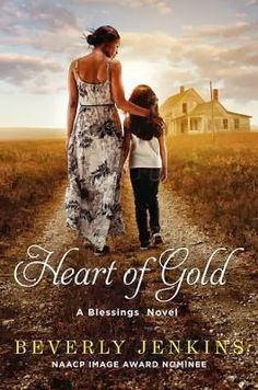 Heart of Gold/Beverly Jenkins  http://encore.greenvillelibrary.org/iii/encore/record/C__Rb1377111