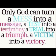 Things are best when God is in control, NOT me! god in control, stuff, faith, god is in control quotes, thing, live