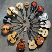 Circle The Guitars.