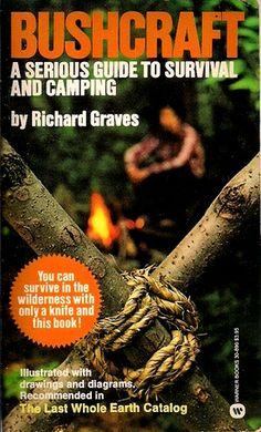 10 Books of Bushcraft - outdoor self reliance