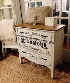 Repurposed Gems: Side-of-the-road find - A French Dresser - $600