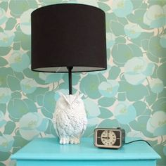 How to DIY your own owl lamp!