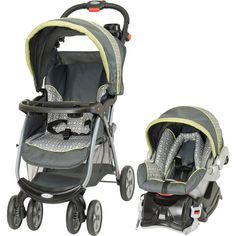 Baby Trend - Envy Travel System, Citron