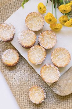 How to make mini mochi cakes.