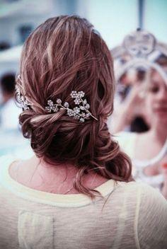 ..bridal hair