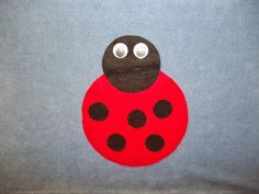 What is Bridget Reading?: Flannel Friday: Ladybug