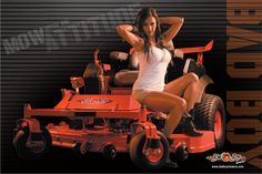 The all new Bad Boy Mowers poster is now available and it's sizzling with Bad Boy Attitude!