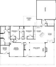 House plans on pinterest 28 pins for Southfork ranch house floor plan