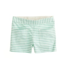 crewcuts girls' oxford short in gingham