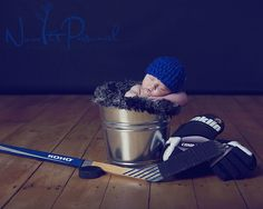 Now It's Personal Photography - hockey newborn
