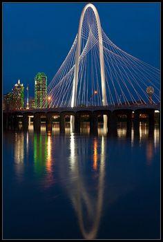 Margaret Hunt-Hill Bridge, Dallas, Texas
