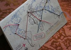 the journey, craft, travel journals, diy fashion, travel maps
