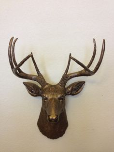 Hey, I found this really awesome Etsy listing at https://www.etsy.com/listing/127321244/faux-deer-head-hunting-trophy-with